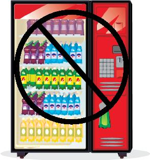 no vending machine